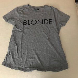 "Brunette The Label - ""Blonde"" Tee"